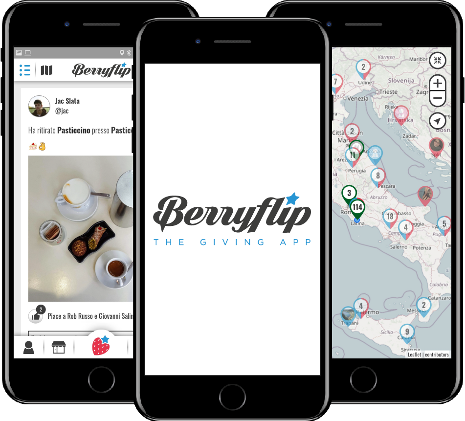 Berryflip on mobile
